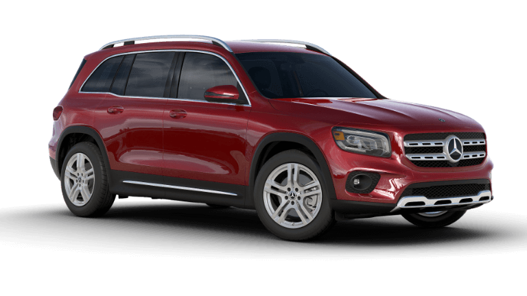 2020 Mercedes-Benz GLB SUV - Patagonia Red