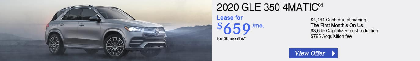 2020 Mercedes-Benz GLE 350 Lease Offer