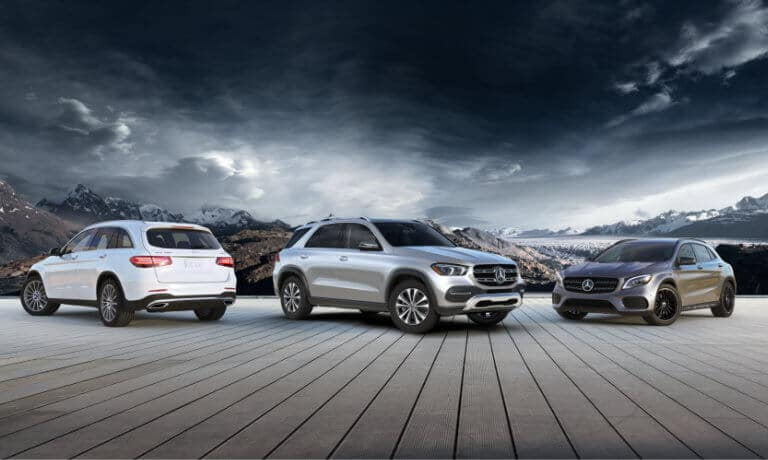 2020 Mercedes-Benz SUV Pack Shot