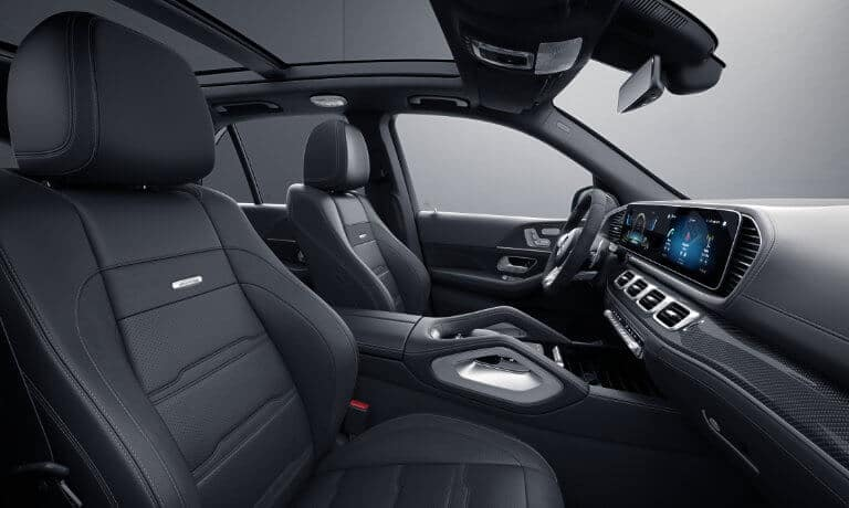 2021 Mercedes-Benz GLE SUV interior front side view