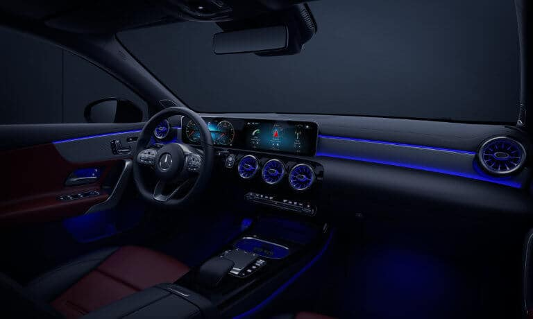 2021 Mercedes-Benz A-Class Sedan interior ambient lighting