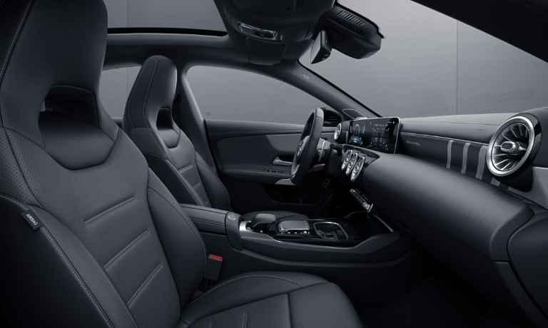 2021 Mercedes-Benz CLA Coupe interior front seating