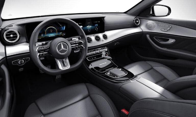 2021 Mercedes-Benz E-Class interior front