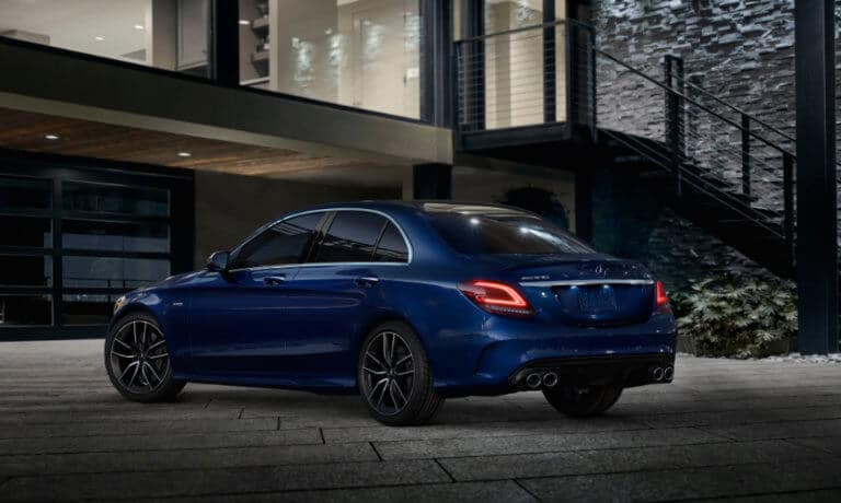 2021 Mercedes-Benz C-Class Sedan exterior outside home at night