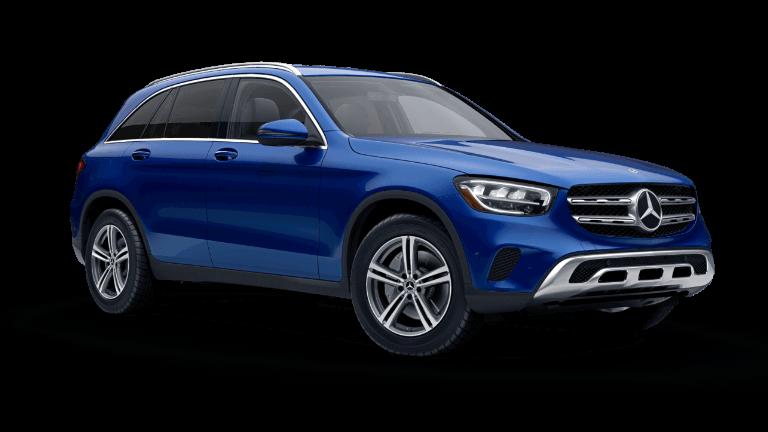 2021 Mercedes-Benz GLC 300 SUV - Brilliant Blue