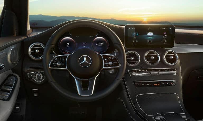 2021 Mercedes-Benz GLC SUV interior front