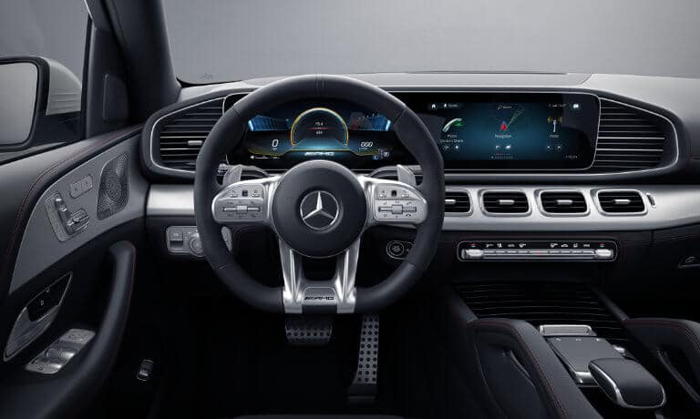 2021 Mercedes-Benz GLE SUV interior front