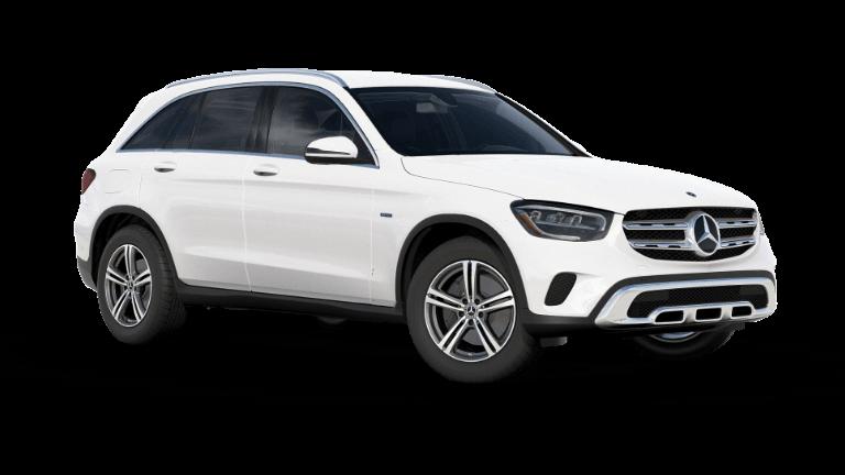 2021 Mercedes-Benz GLC 350e 4MATIC® SUV - Polar White