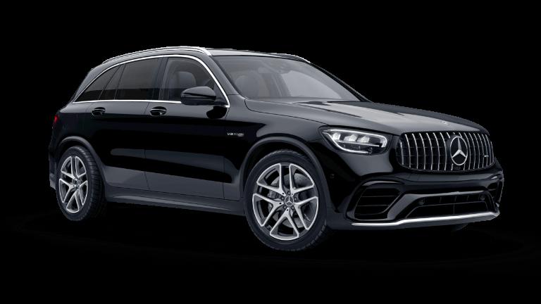 2021 Mercedes-Benz AMG GLC 63 4MATIC SUV - Black