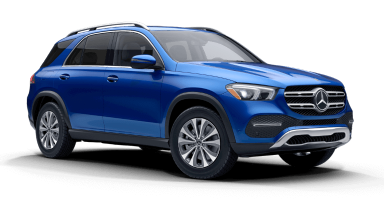2021 Mercedes-Benz GLE 450 4MATIC® SUV - Brilliant Blue