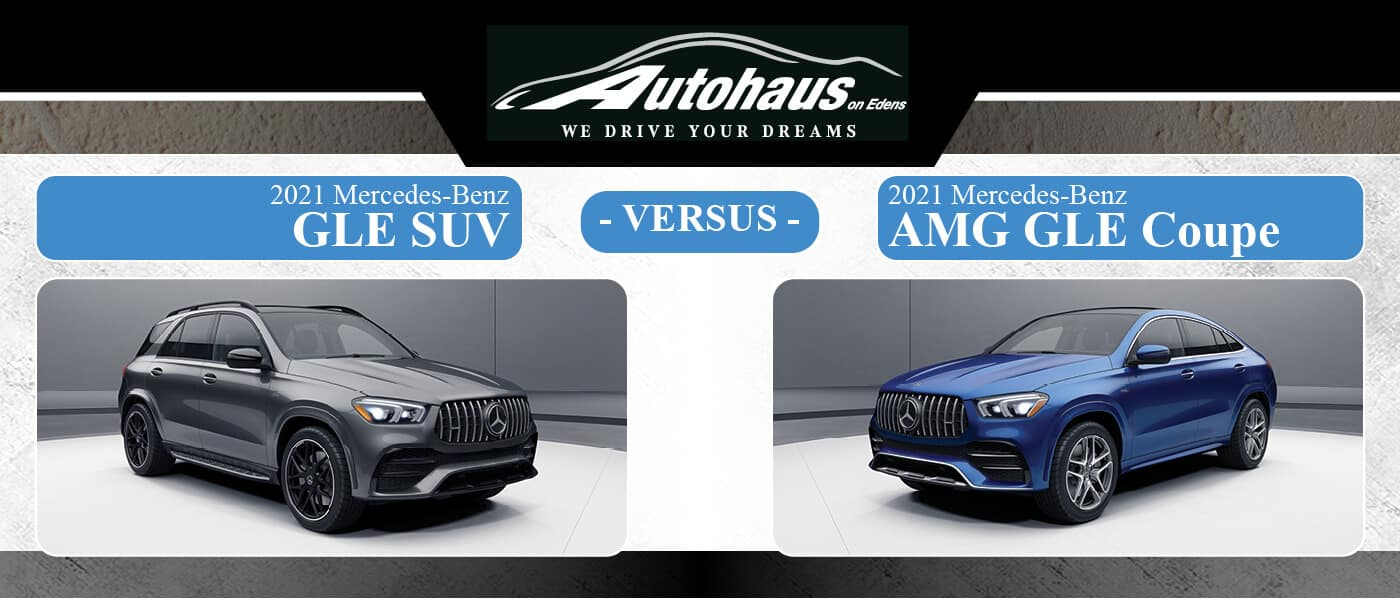 2021 Mercedes-Benz GLE SUV vs. 2021 Mercedes-Benz AMG® GLE Coupe