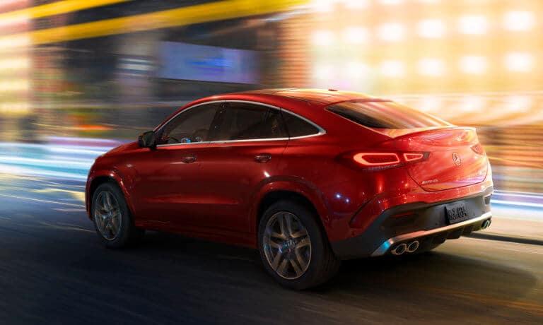 2021 Mercedes-Benz AMG GLE Coupe exterior motion blur