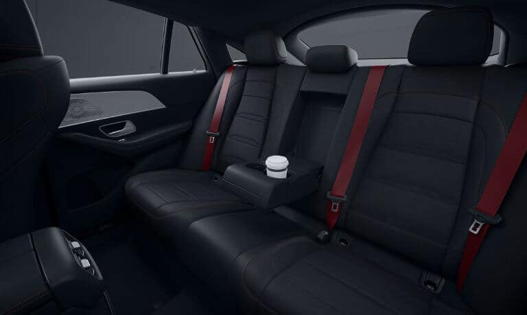 2021 Mercedes-Benz AMG GLE Coupe interior rear seating