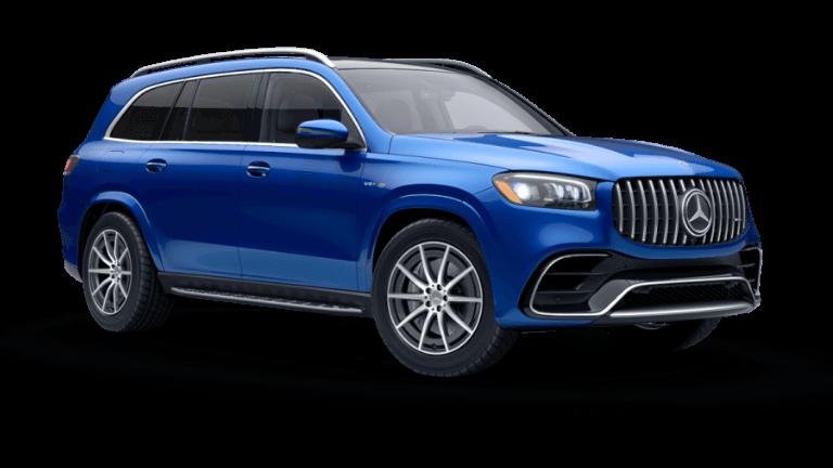 2021 Mercedes-Benz AMG® GLS 63 SUV - Brilliant Blue
