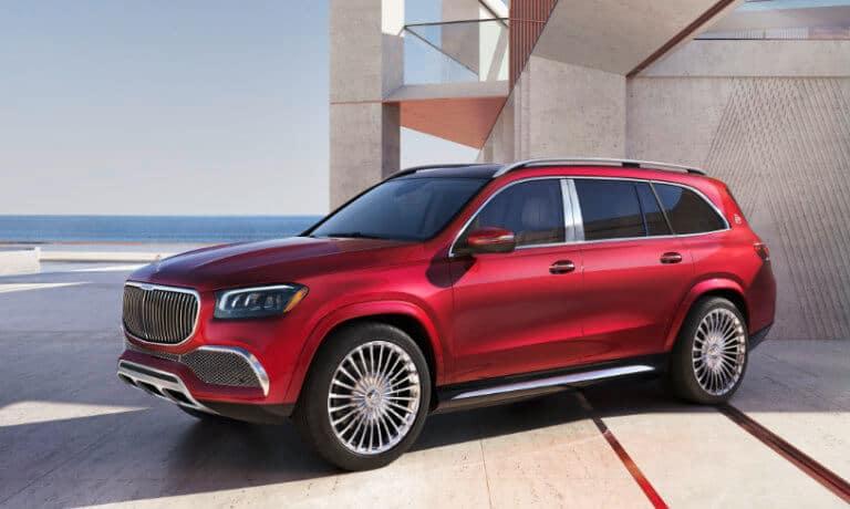 2021 Mercedes-Benz GLS exterior leaving coastal home