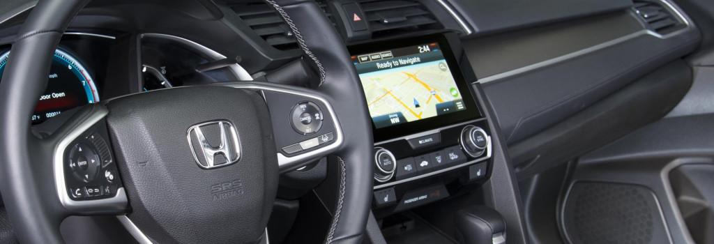 Honda Dashboard with Navigation