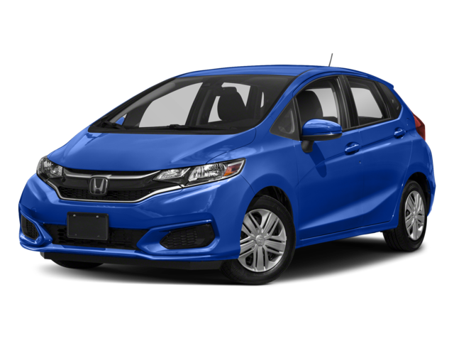 Blue Honda Fit