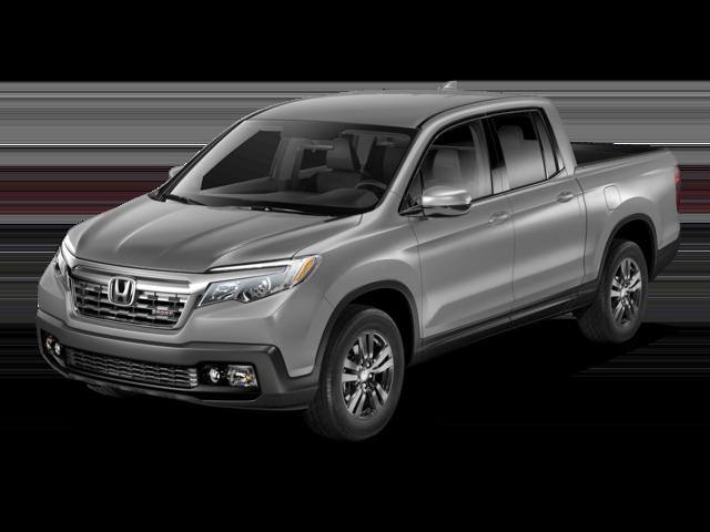 Silver Honda Truck