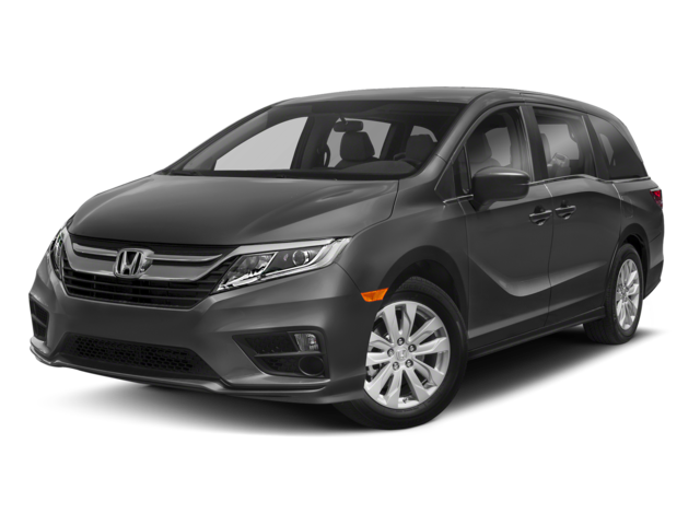Black Honda Odyssey