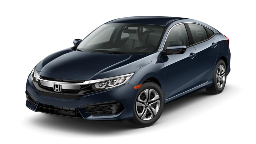 Lease a 2018 Honda Civic 2.0L LX Automatic Sedan for $185/Month