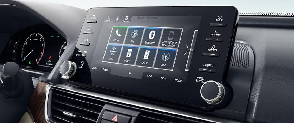 2018 Honda Accord touch screen