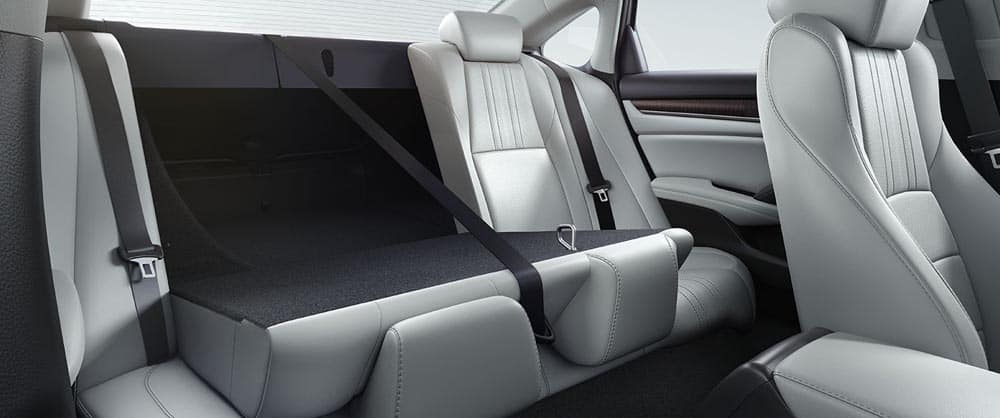 2018 Honda Accord folding seats