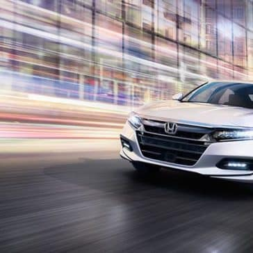 2018 Honda Accord in city