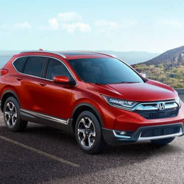 2018 Honda CR-V in the mountains