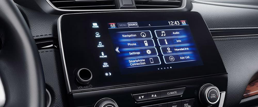 2018 Honda CR-V screen display