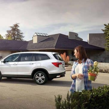 2018 Honda Pilot in neighborhood