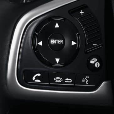 2018 Honda Civic steering wheel controls