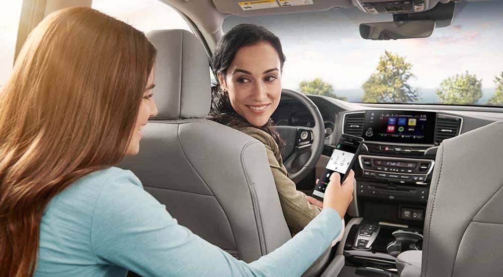 2019 Honda Pilot cabin interior