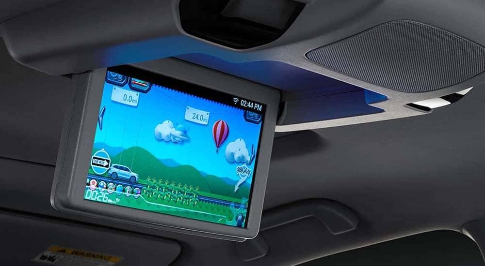 2019 Honda Pilot rear entertainment