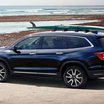 2019 Honda Pilot adventure at the beach