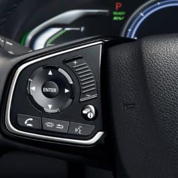 2018 Honda Clarity bluetooth steering wheel controls