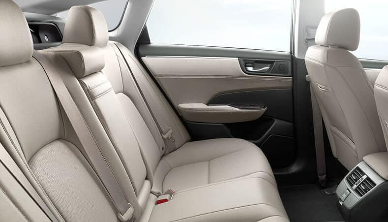 2018 Honda Clarity five passenger seating
