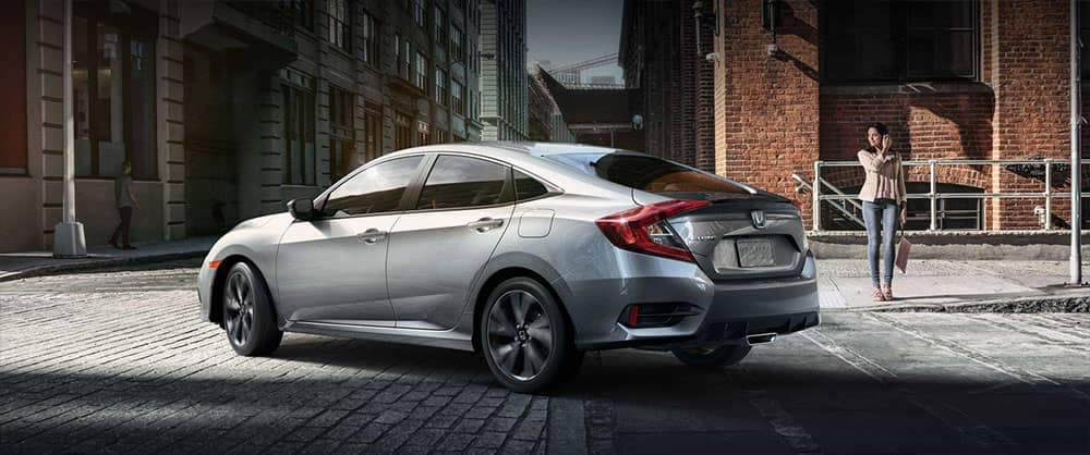2019 Honda Civic rear view