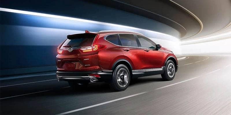 2018 Honda CR-V Driving Through Tunnel