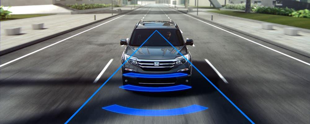 Forward Collision mitigating braking system