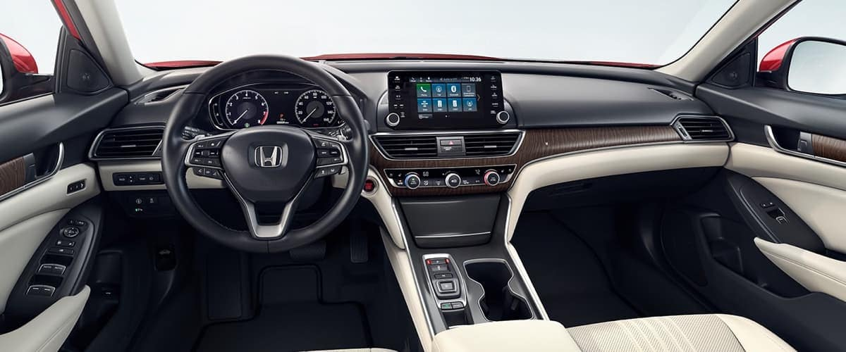 2019 Honda Accord Sedan Interior Front Seating and Dashboard