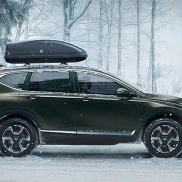 2019 Honda CR-V Parked in Snow