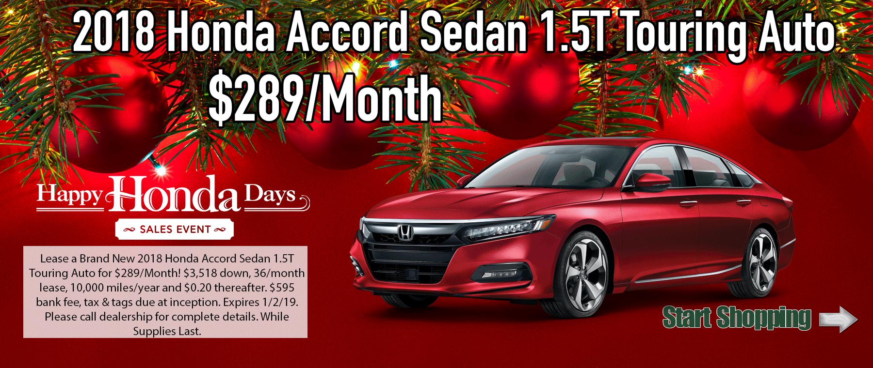 Honda Accord 1.5T Touring Auto