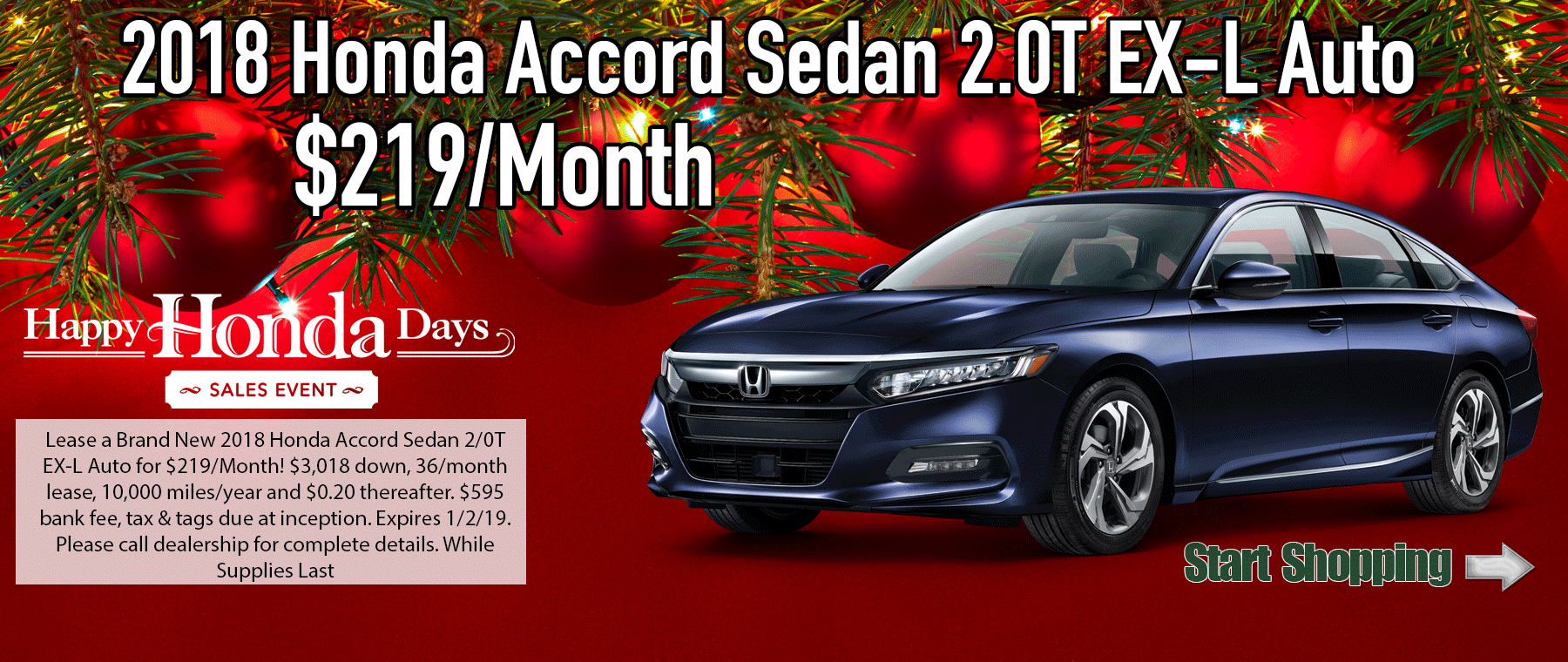 Honda Accord Sedan 1/0T EXL Auto