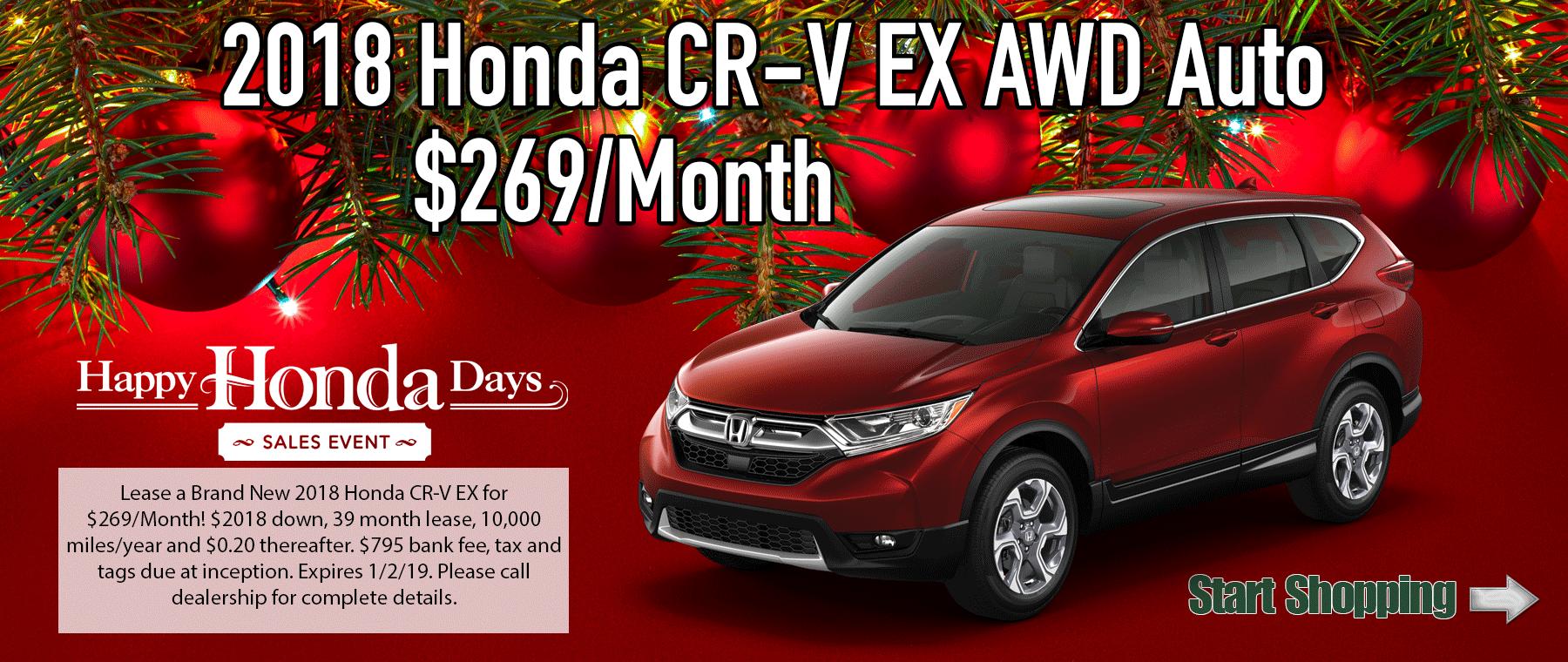 Honda CRV EX AWD