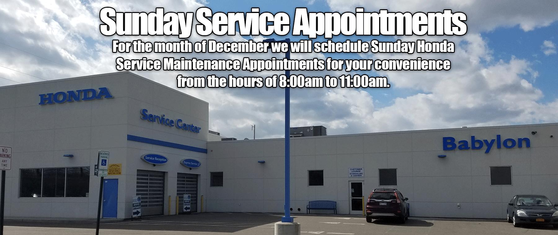 Sunday Service Center