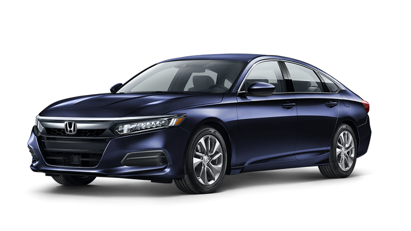 2019 Honda Accord LX in obsidian blue