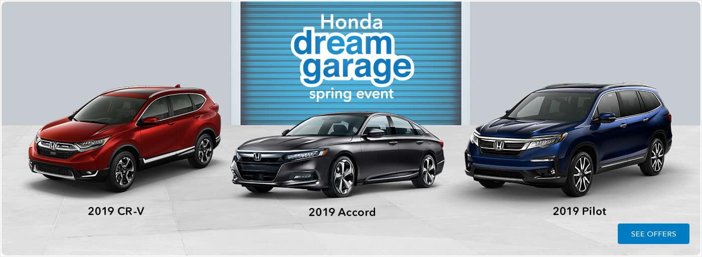 Honda Dream Garage Sale Event Banner