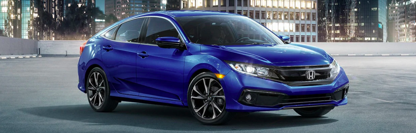 2019 blue honda civic
