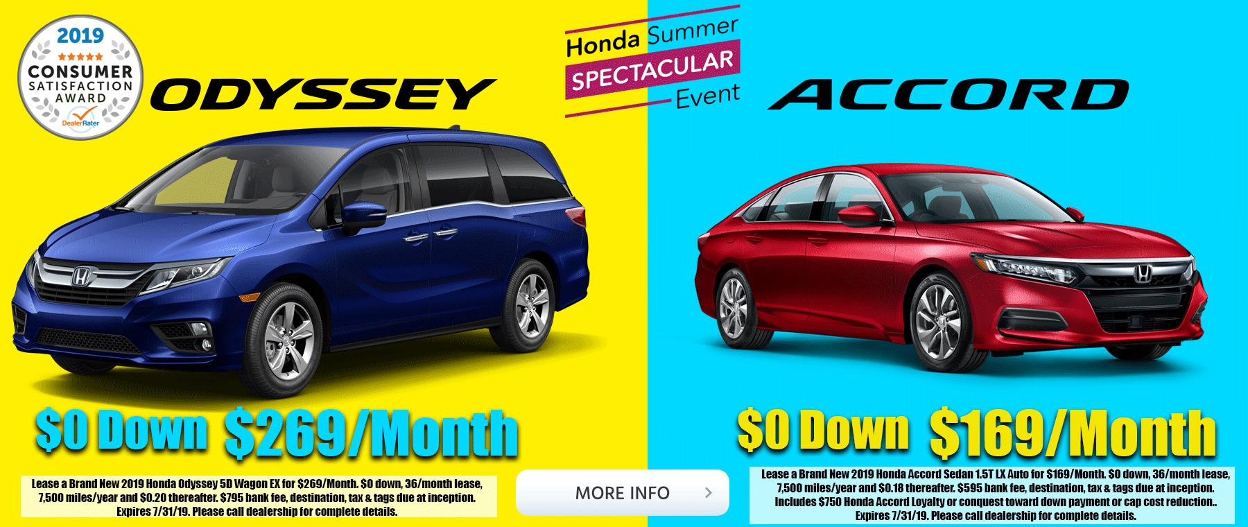 Honda Accord Honda Odyssey