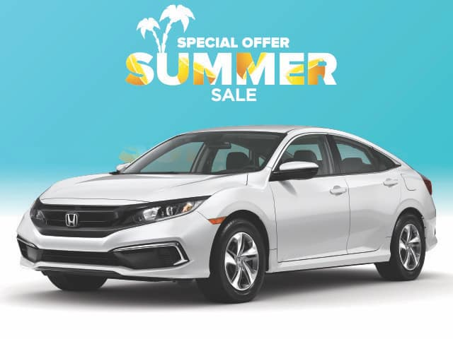 New 2020 Honda Civic LX Sedan Automatic
